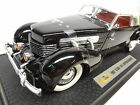1937 Cord Phaeton 812 118th scale diecast Signature Models EL 1936 810 Model