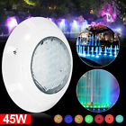 45W RGB 7 Color Swimming Pool LED Bright Light Underwater Lamp + Remote Control