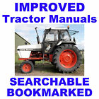CASE David Brown 1490, 1690 TRACTOR REPAIR SHOP SERVICE MANUAL - SEARCHABLE CD