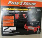 NEW IN THE BOX Black & Decker Nailer and Compressor Combo Kit