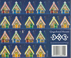 Scott# 4820b GINGERBREAD HOUSES 2013, SELF-ADH BOOKLET OF 20 FOREVER STAMPS