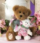 Boyds Bear Bonnie with Babette Bear of The Month Collection NWT