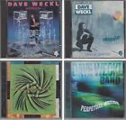 DAVE WECKL BAND Master Plan Heads Up Synergy & Perpetual Motion 4 CD Lot Jazz
