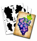 Grape Stencil - Three Piece Set