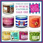 Bath  Body Works 3 Wick Candles 145 oz Worlds Best Candle Free Shipping