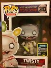 FUNKO POP vinyl AMERICAN HORROR STORY Freak Show TWISTY unmasked SDCC EXCLUSIVE