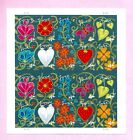 GARDEN OF LOVE STAMP SHEET 20 x Forever stamps SC 4531 4540 MINT