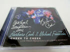 SIGNED - Cheek to Cheek: Barbara Cook & Michael Feinstein CD Signed by both RARE