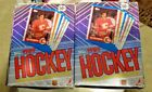 (1) 1989-90 TOPPS HOCKEY WAX BOX UNOPENED BOURQUE CASEY SAKIC LINDEN LEETCH RC'S