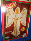 VTG 1995 Empire Lighted 33 CHRISTMAS Nativity Angel Wall Hanging Blow Mold 1658