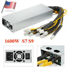 92% 1600w Mining Power Supply For Bitcoin Miner S9 S7 L3+D3 APW3 12.5T/13T/13.5T