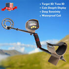 MD 4030 Deep Sensitive Ground Metal Detector Waterproof Search Coil Gold Hunter