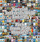 Special Interests DVD Lot #2: DISC ONLY - Pick Items to Bundle and Save!