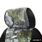 Skanda Mossy Oak Mountain Country Camo Front Seat Covers For Ford F450 F550