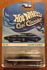Hot Wheels Custom 53 Chevy Cool Classics 2013 Error 61 Impala 164 Diecast