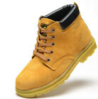 Fashion Mens Safety Hiking Work Shoes Steel Toe Cap Working Sneaker Hiking Boots