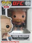 FUNKO POP UFC CONOR McGREGOR #01 BLACK DETHRONE.COM ERROR SHORTS FIGURE In Stock