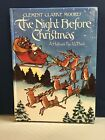 Vintage hallmark pop up Book Clement Clarke Moores The Night Before Christmas