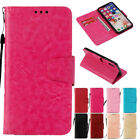 For iPhon 5C 5S 6 6s 7 8 Plus X Retro Genuine Leather Flip Wallet Case Cover
