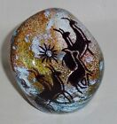 Rick Satava Signed Studio Petroglyph Cave Drawing Paperweight