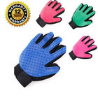Discount Green Rubber Dog Grooming Brushes Gloves Pet Hair Remover Shedding