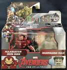Marvel Minimates Series 63 Avengers Age Of Ultron Hulk Buster and Rampaging Hulk