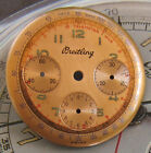 NEW OLD STOCK VINTAGE BREITLING 3-REGISTER CHRONOGRAPH DIAL