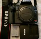Canon EOS Rebel T1i EOS 500D 151MP Digital SLR Camera Black Body Only