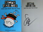 Signed Book Timmy Failure Now Look What Youve Done by Stephan Pastis pbk 2015