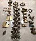 Mid Century Brass Hardware As Is Wheat Drawer Pulls Window Locks Misc