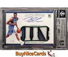 2015-16 Karl-Anthony Towns National Treasures RC Patch Auto 5 BGS 8.5 10 Pop 1