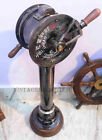 Antique Brass Ships Engine Order Telegraph Vintage Maritime Collectible