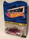 2017 Mexico Hot Wheels Convention Purple  Silver 83 Chevy Silverado 2 10