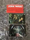 Vintage STAR WARS EARLY BIRD CERTIFICATE PACKAGE Cut Out Cards Only Look