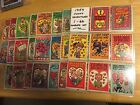 1959 Topps Funny Valentine's Complete 66 Card Set Average condition nr