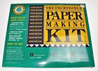 Paper Making Kit Recycle Junk Mail into Paper in 1 2 Hour NEW Vtg 1991