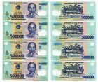 2 Million VietNam dong polymer Currency 4 x 500000 500000 dong UNC USA Seller