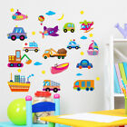Cartoon Cars Vehicle Hoom Room Decor Removable Wall Sticker Decal Wandtattoo