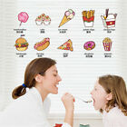 Food English Childs Hoom Room Decor Removable Wall Sticker Decal Wandtattoo