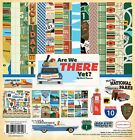 Carta Bella ARE WE THERE YET 12x12 Travel Collection Kit Scrapbook Paper Sticke