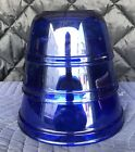 Cobalt Blue Anchor - Set of Three Nesting Mixing Bowl - Oven and Microwave Safe