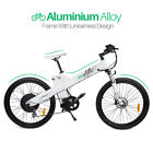 26 1000W 48V White Electric City E Bike Bicycle Lithium LED Moped Pedal Assist