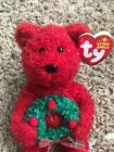 Ty Beanie Baby 2006 Holiday Teddy FREE SHIPPING