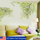 Large Removable Vinyl Green Tree Branch Wall Stickers Decal Art Mural Home Decor