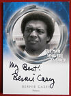 DAVID BOWIE, The Man Who Fell To Earth, BERNIE CASEY, Variant B, Autograph Card
