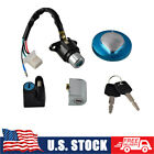 Ignition Switch Gas Cap Cover Seat Lock Keys For Honda CMX250 Rebel 1985-2015
