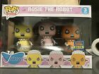 Funko Pop The Jetsons Rosie the Robot 3 Pack 2017 SDDC Exclusive LTD 2000 Pcs