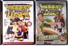 2 Fitness DVDs Biggest Loser Workout  Boot Camp NEW