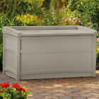 Porch Storage Box Bin Pool Equipment Container Under Deck Swimming Toy Chemical