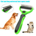 Dematting Comb Tool for Dogs Cats Pet Grooming Rake with Dual Side Pets Products